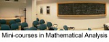 Mini-courses in  Mathematical Analysis